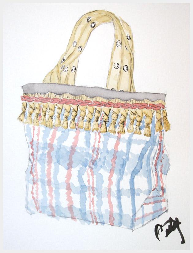 Market Bag DIY Illustration