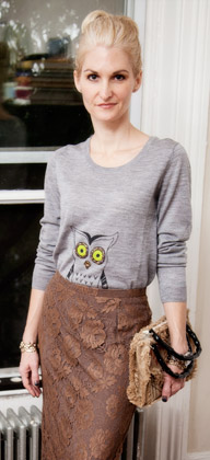 Owl Sweater DIY