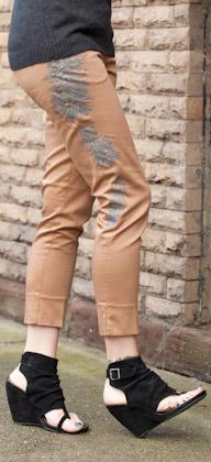 Printed Pants DIY