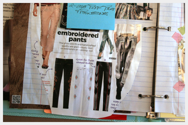 Printed Pants DIY Inspiration