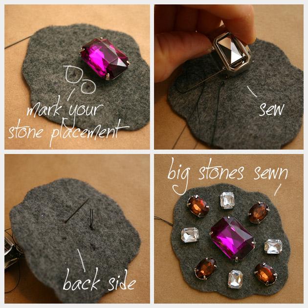 Baroque Bracelet DIY Stones