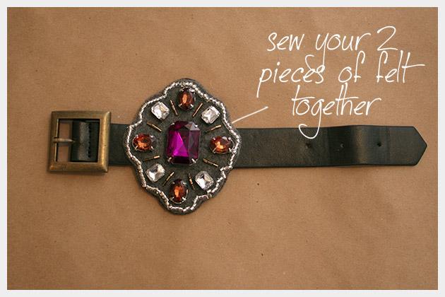 Baroque Bracelet DIY Finished