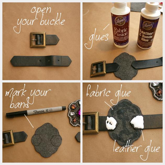 Baroque Bracelet DIY Glue