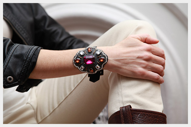 Baroque Bracelet DIY Photo