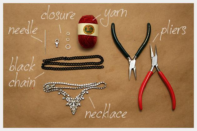 Braided Necklace DIY Supplies