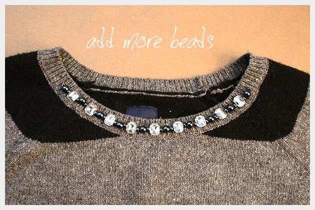 DIY Boyfriend Sweater