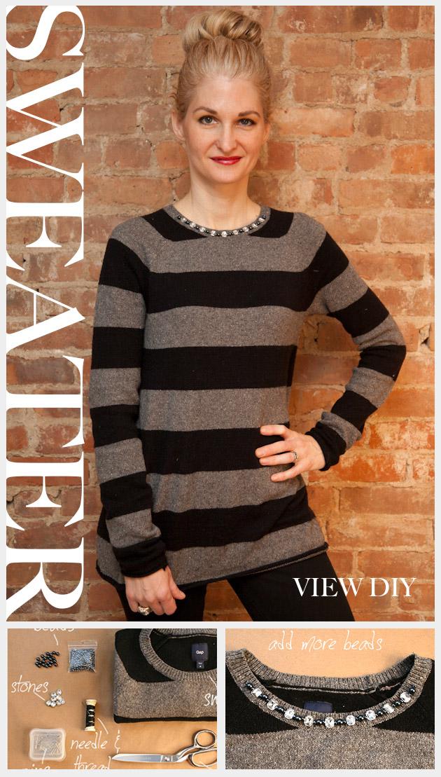 DIY Boyfriend Sweater Feature