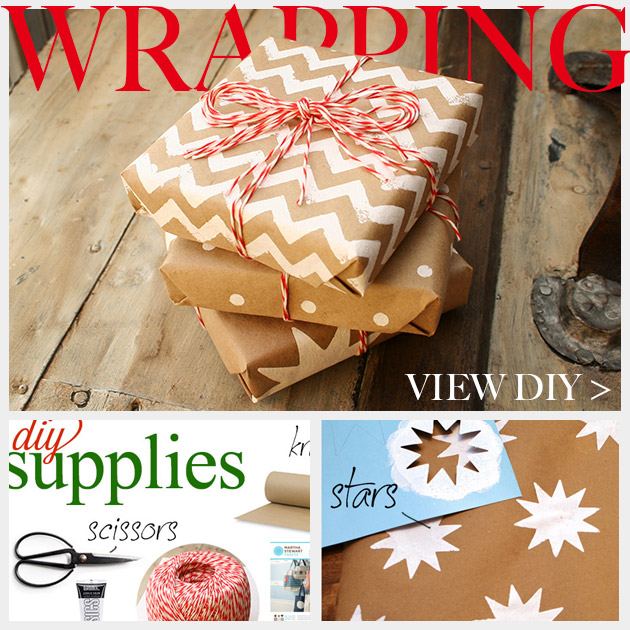 Holiday Gift Wrap DIY Feature
