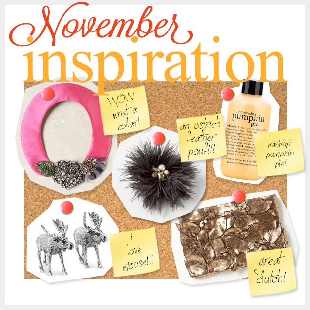 November Inspiration