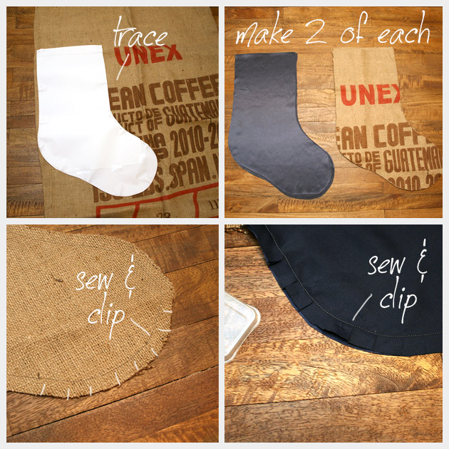 Christmas Stocking DIY Pattern