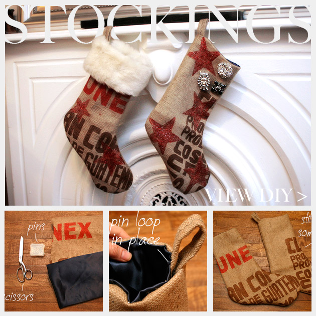 Christmas Stocking DIY Feature