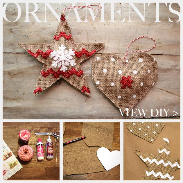 Country ornament diy - Detalles de navidad ...