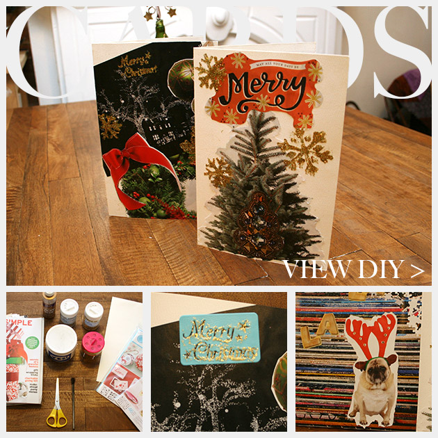 Holiday Cards DIY Feature