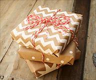 Holiday Gift Wrap DIY