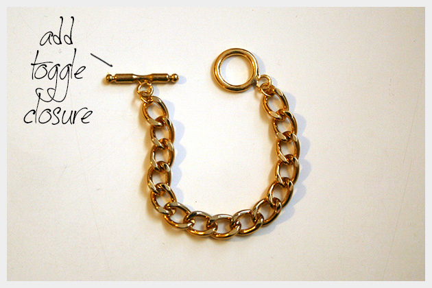 Spike Bracelet DIY Chain