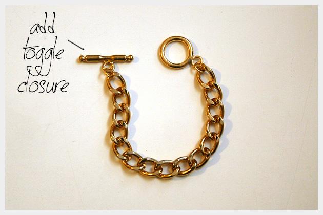 Spike Bracelet DIY Chain