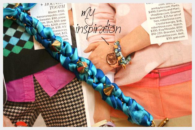 Spike Bracelet DIY Inspiration