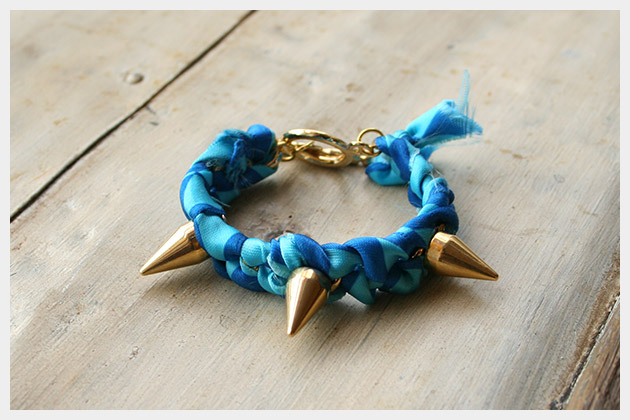 Spike Bracelet DIY Photo
