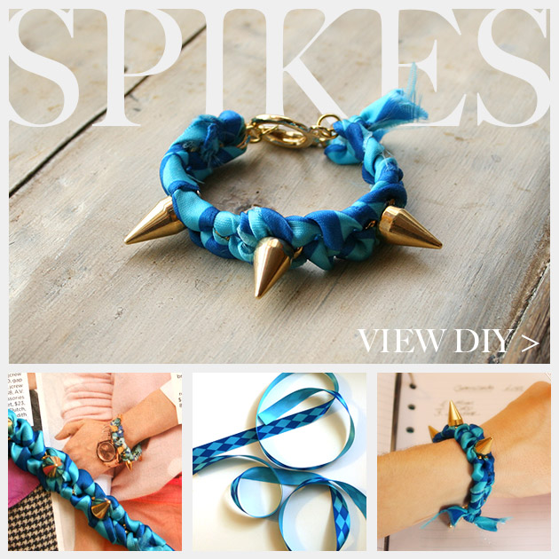 Spike Bracelet DIY Feature