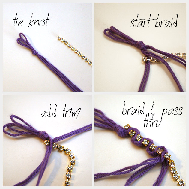 Braided Serpentine Bracelet DIY Braiding
