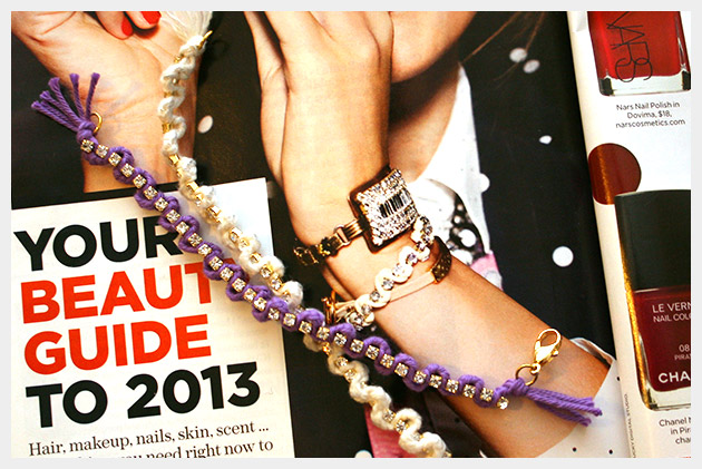 Braided Serpentine Bracelet DIY Inspiration