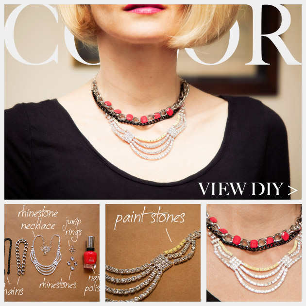 Colorful Statement Necklace DIY Feature