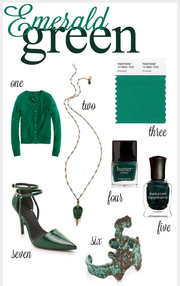 Emerald Green Pantone Color of 2013