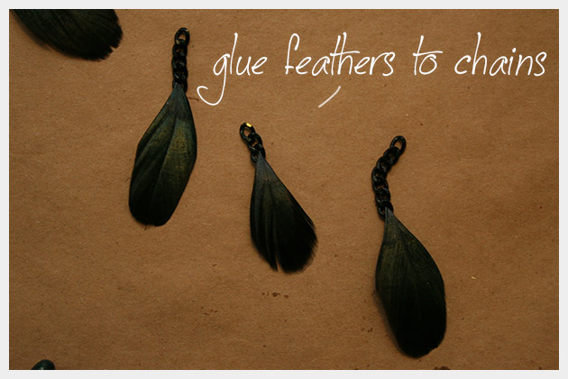 DIY Feather Earrings Tutorial