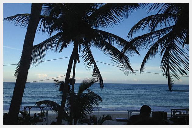 View of Carribean at Papaya Playa Project