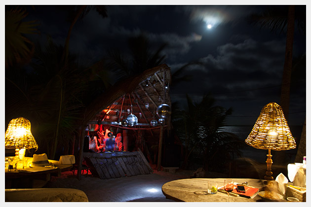 Full Moon at Papaya Playa Project