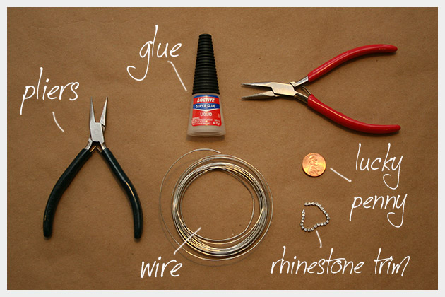 DIY Penny Ring Supplies