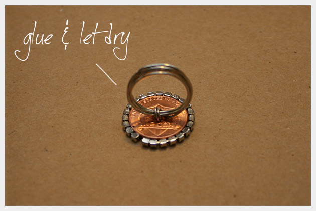 DIY Penny Ring Final