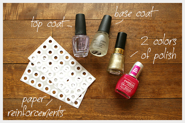 Valentine Nails DIY Supplies