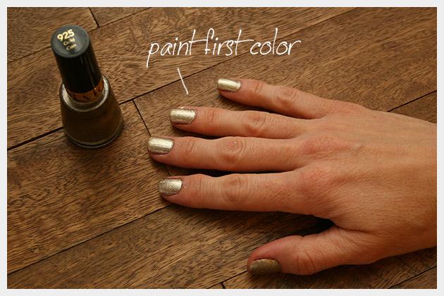 Valentine Nails DIY Base Color