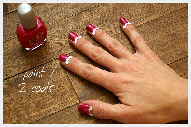 Valentine Nails DIY Painting Color