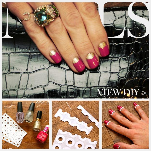 Valentine Nails DIY Feature