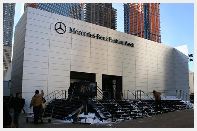 MB Fashion Week Building