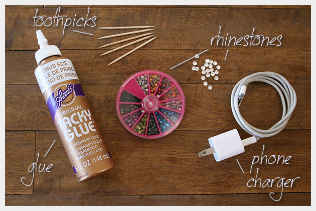 DIY Phone Charger Supplies