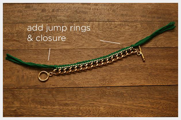 Emerald Bracelet DIY Closures