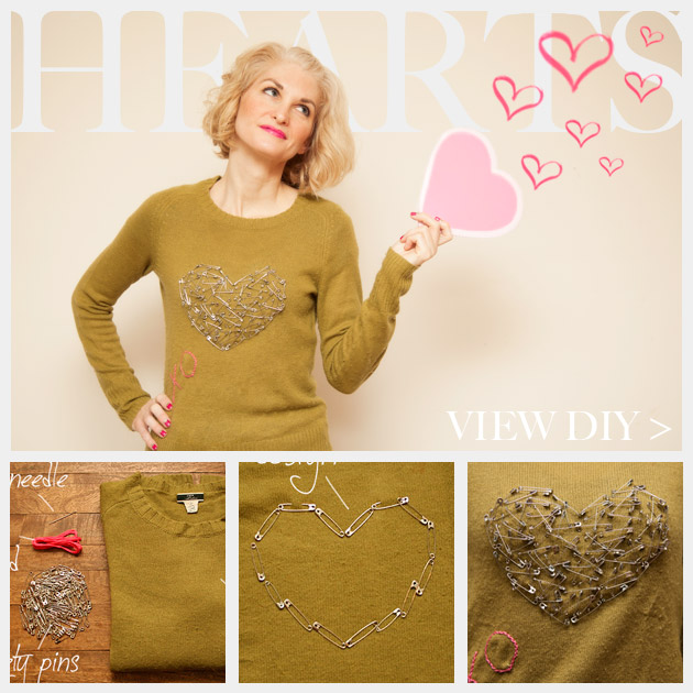 Valentine Heart Sweater DIY Feature