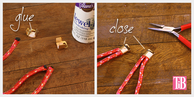 Knotted Rope Bracelet DIY Closures