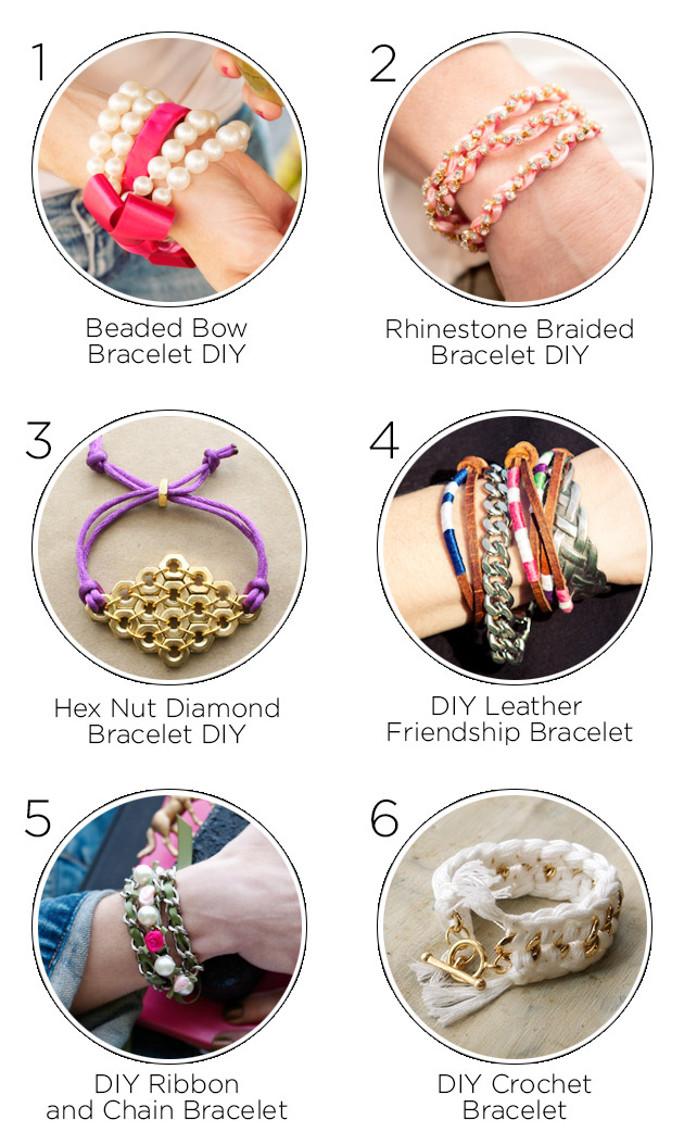 One Year Anniversary Bracelet DIY's