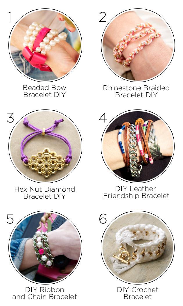 One Year Anniversary Bracelet DIY's