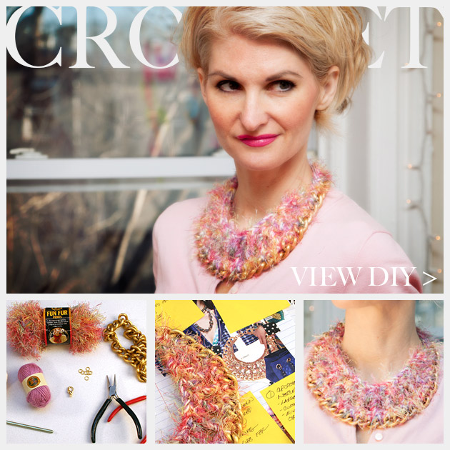 DIY Crochet Necklace Feature