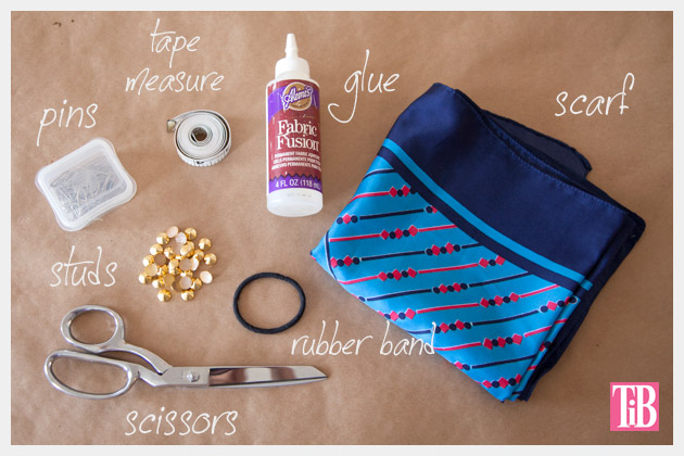 DIY Studded Turban Supplies