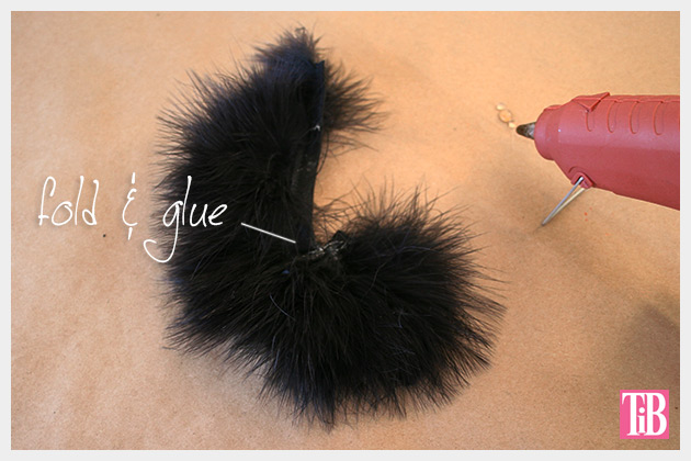 Feathered Jeweled Beanie DIY Feathers 1