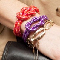 DIY Knotted Rope Bracelet