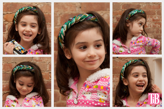 DIY Braided Headband Photos