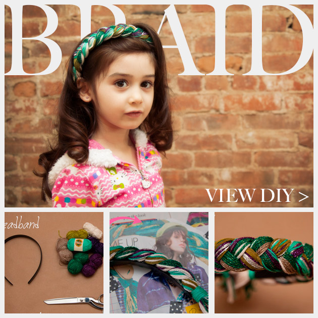 DIY Braided Headband Feature