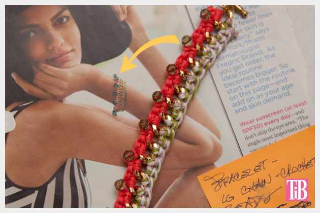 DIY Crochet Beaded Bracelet Inspiration